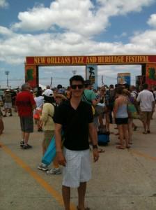 jason at jazzfest