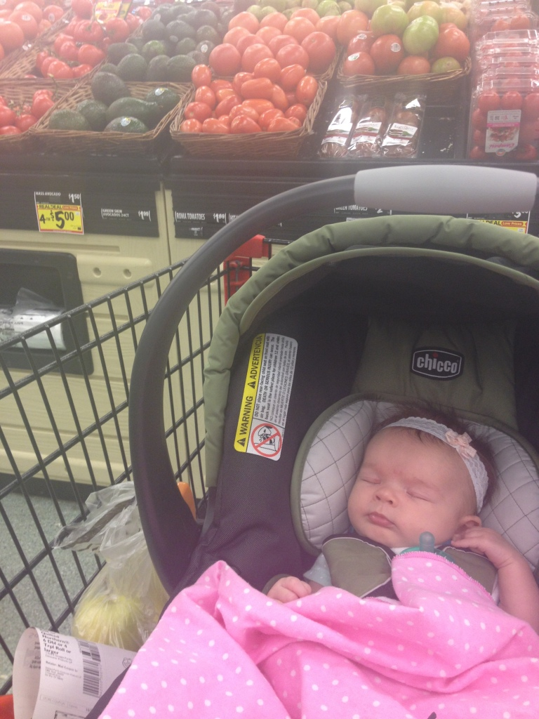 at grocery store